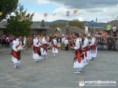Majaelrayo - Pueblos arquitectura negra - Fiesta de los danzantes, Santo Niño; ropa para senderismo